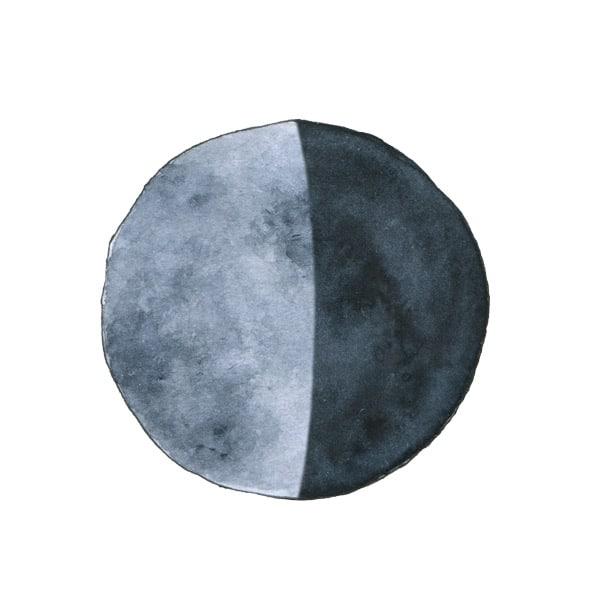 Abnehmender Mond Mm