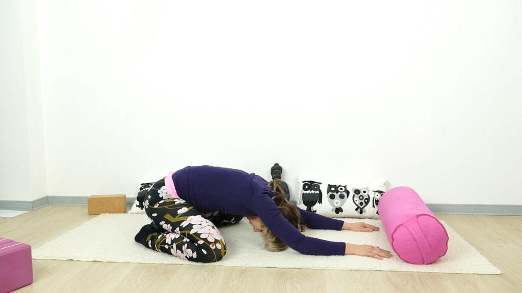 Detox Yin Yoga: Kleiner Frosch