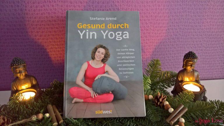 Gesund durch Yin Yoga Buch Stefanie Arend