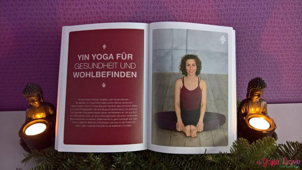Gesund durch Yin Yoga Buch Stefanie Arend: Sequenzen