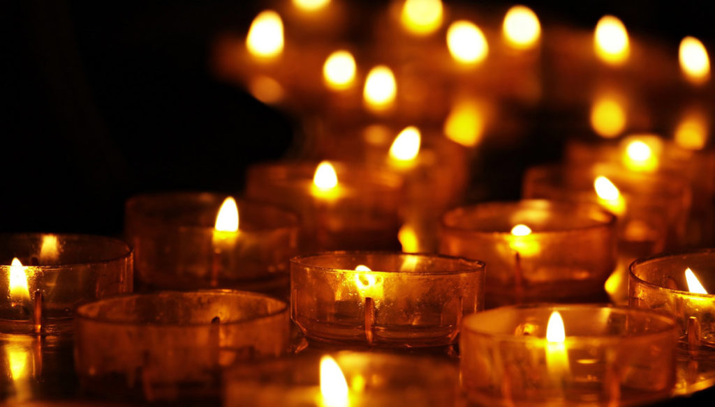 Halloween Samhain Kerzen