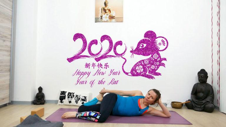 Yoga für das chinesische Neujahr 2020 – Jahr der Ratte (Metall)