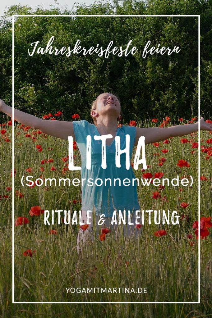 Litha Sommersonnenwende Jahreskreisfest