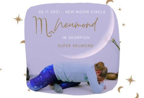 Live Yin Yoga Neumond im Skorpion
