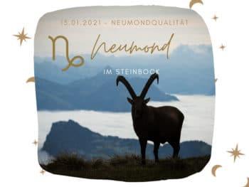 Neumond im Steinbock 2021