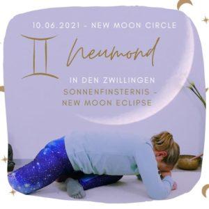 Live Online Yin Yoga – Neumond in den Zwillingen Juni 2021 (Sonnenfinsternis – New Moon Eclipse)