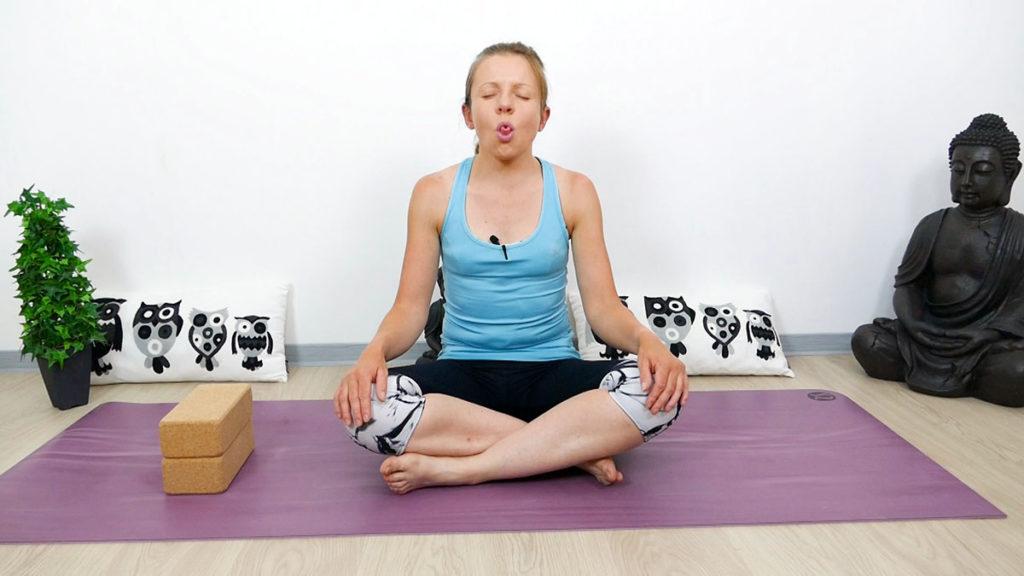 Sitali Pranayama (Kühlende Atmung)