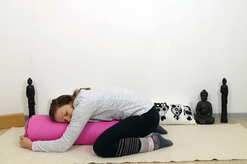 Position des Kindes auf dem Kissen