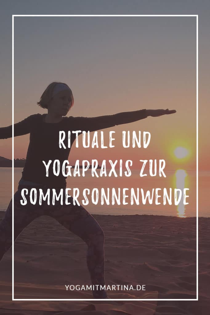 Yogapraxis und Rituale zur Sommersonnenwende
