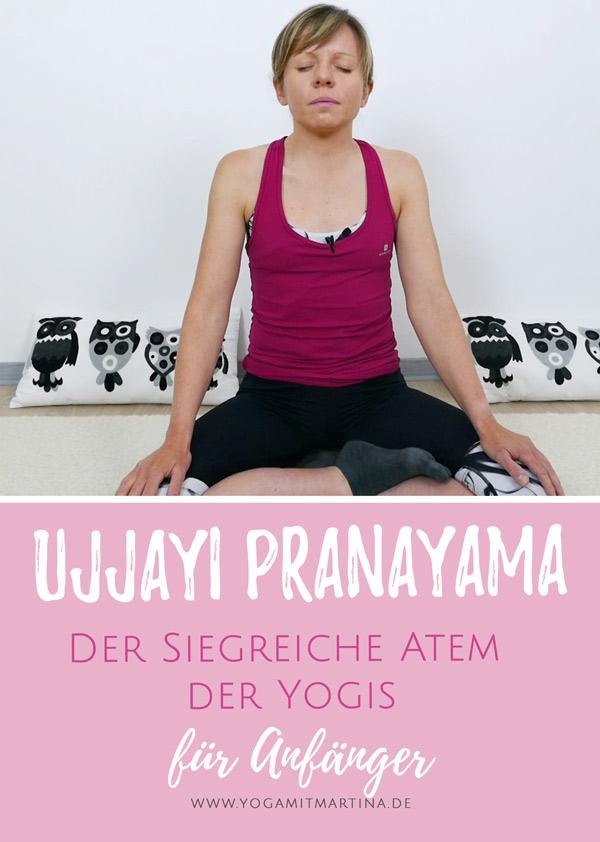 Ujjayi Pranayama Anleitung