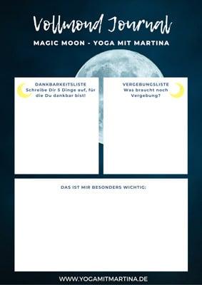Vollmond Workbook