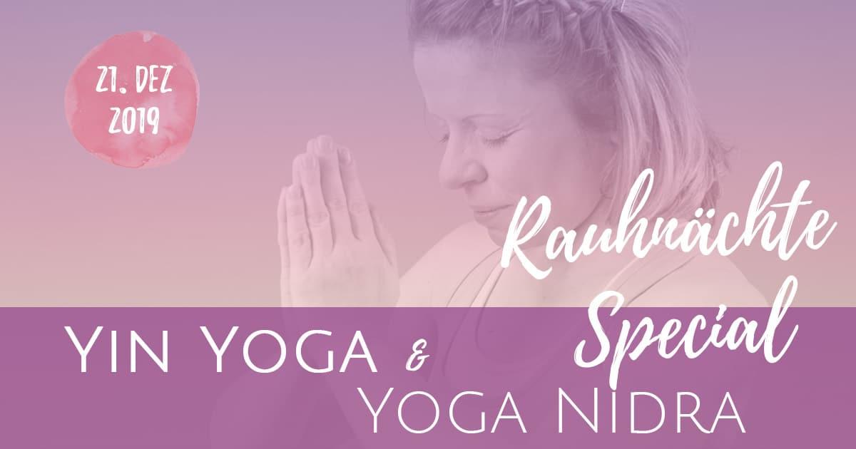 Yin Yoga Rauhnächte Special