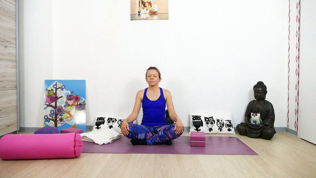 Yin Yoga für das Dritte Auge Chakra