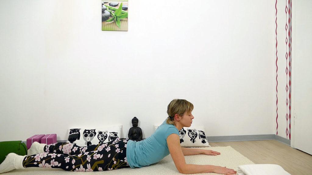 Yin Yoga Herzchakra - Sphinx