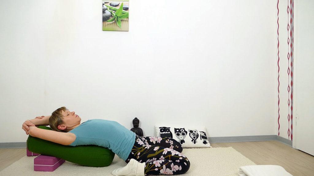 Yin Yoga Herzchakra - Sattel