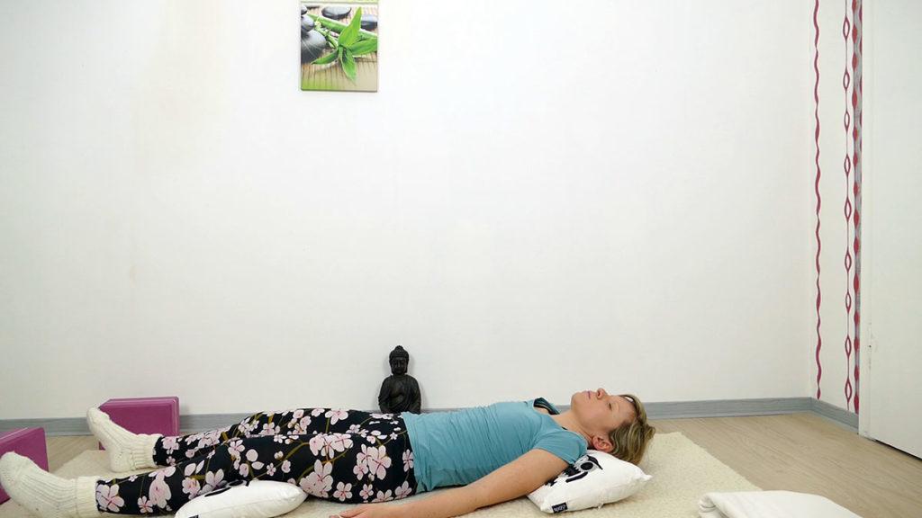 Yin Yoga Herzchakra - Shavasana
