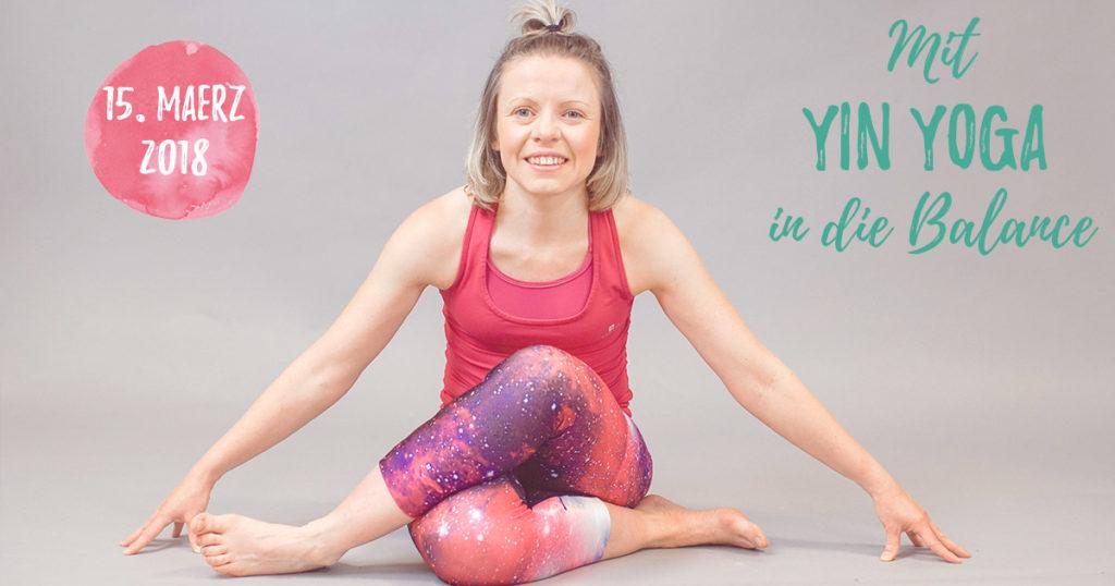 Mit Yin Yoga in die Balance