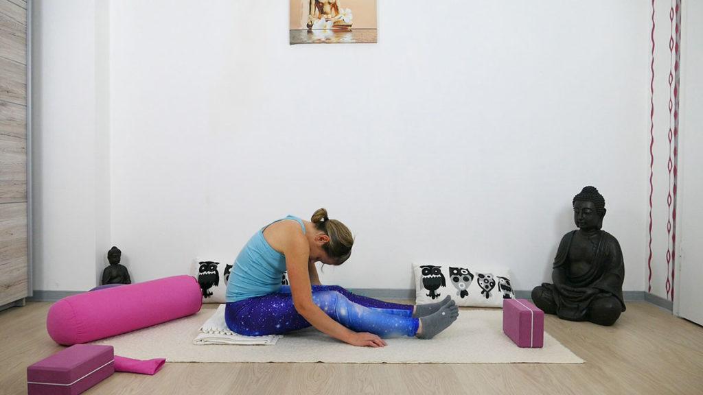 Yin Yoga für besseren Schlaf - Raupe
