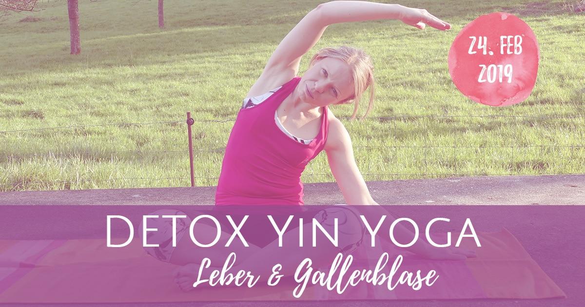 Yin Yoga Detox