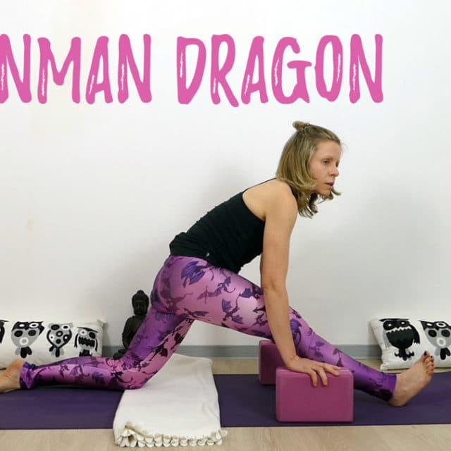 Yin Yoga Drache Hanuman Dragon