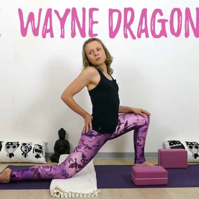 Yin Yoga Drache John Wayne Dragon