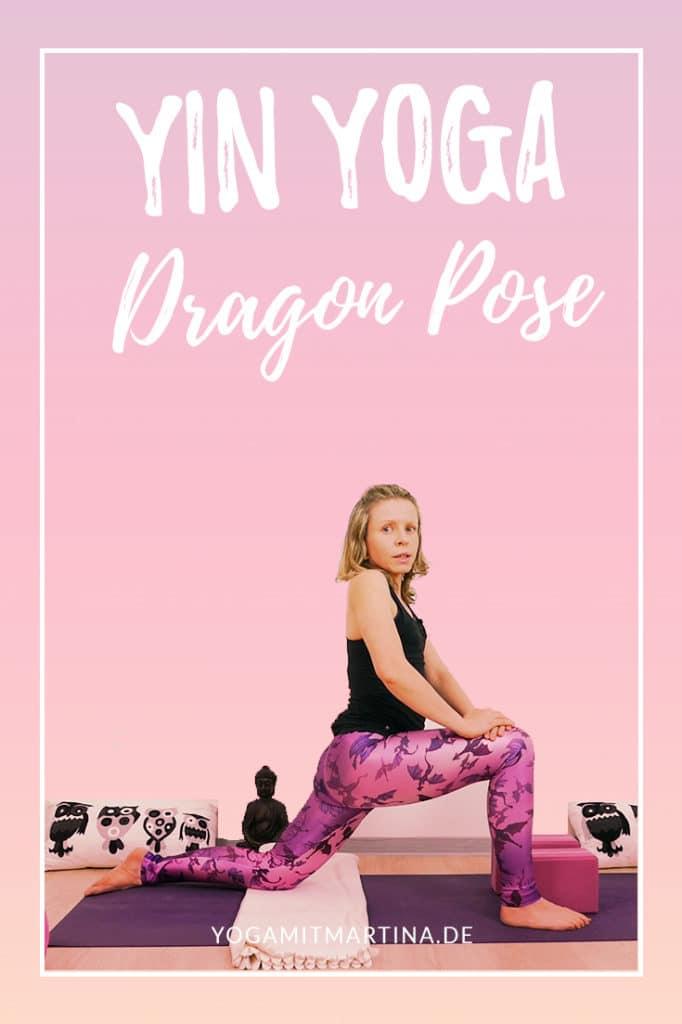 Yin Yoga Dragon Drache