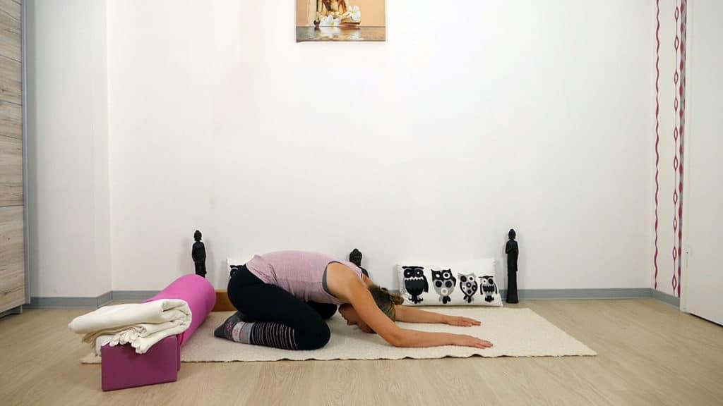 Yin Yoga Element Erde - Magen und Milz - Kleiner Frosch
