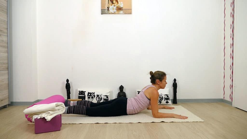 Yin Yoga Element Erde - Magen und Milz - Sphinx