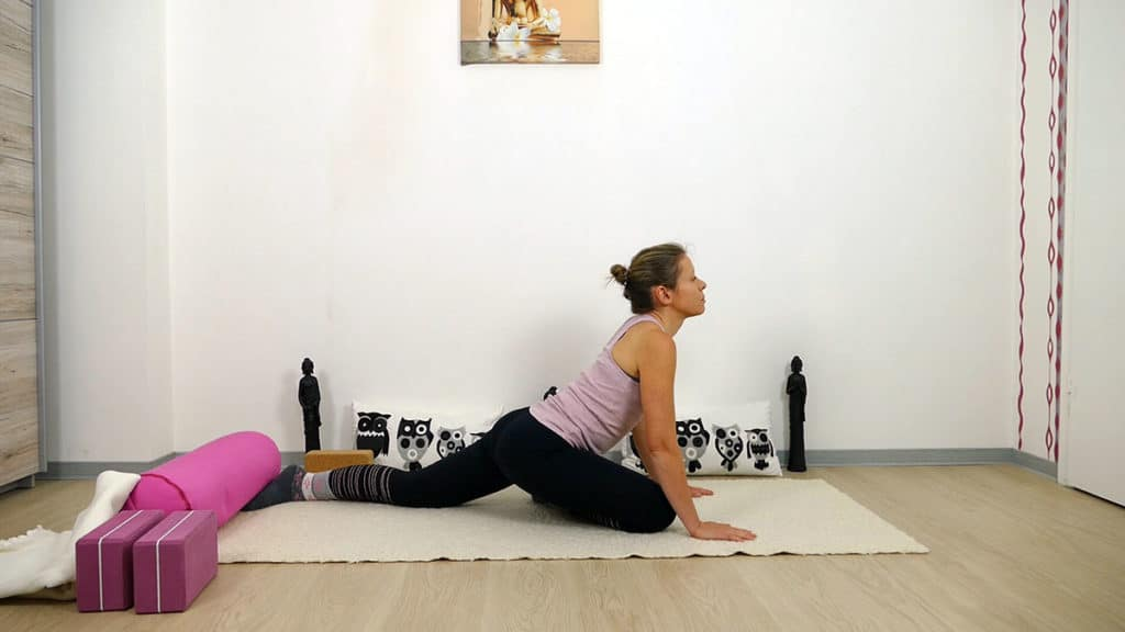 Yin Yoga Element Erde - Magen und Milz - Swan