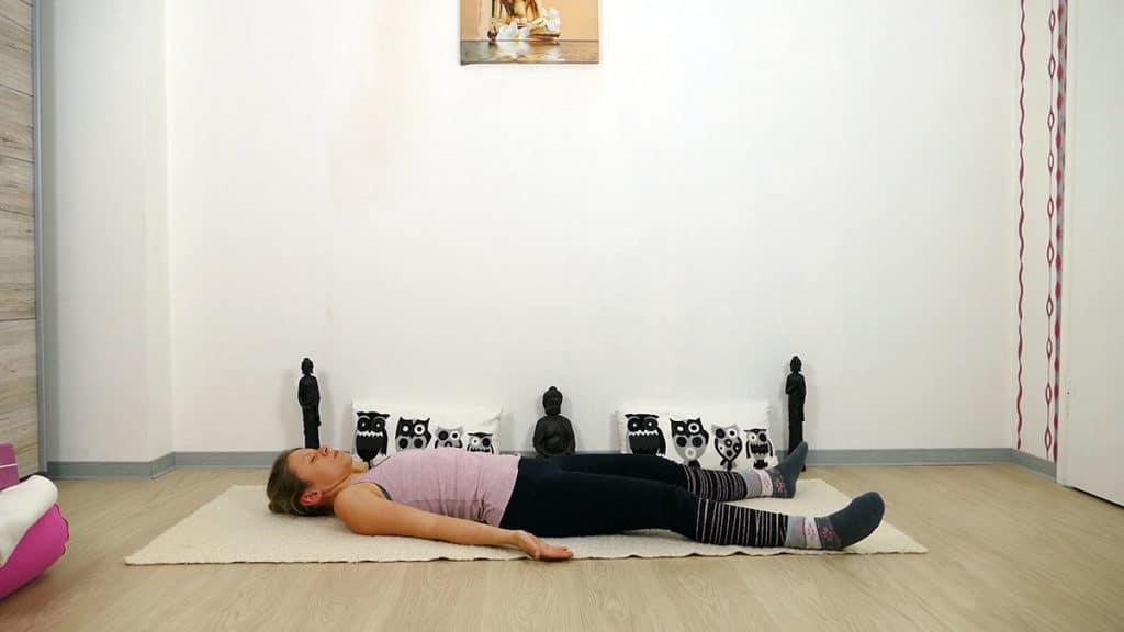 Yin Yoga Element Erde - Magen und Milz - Shavasana