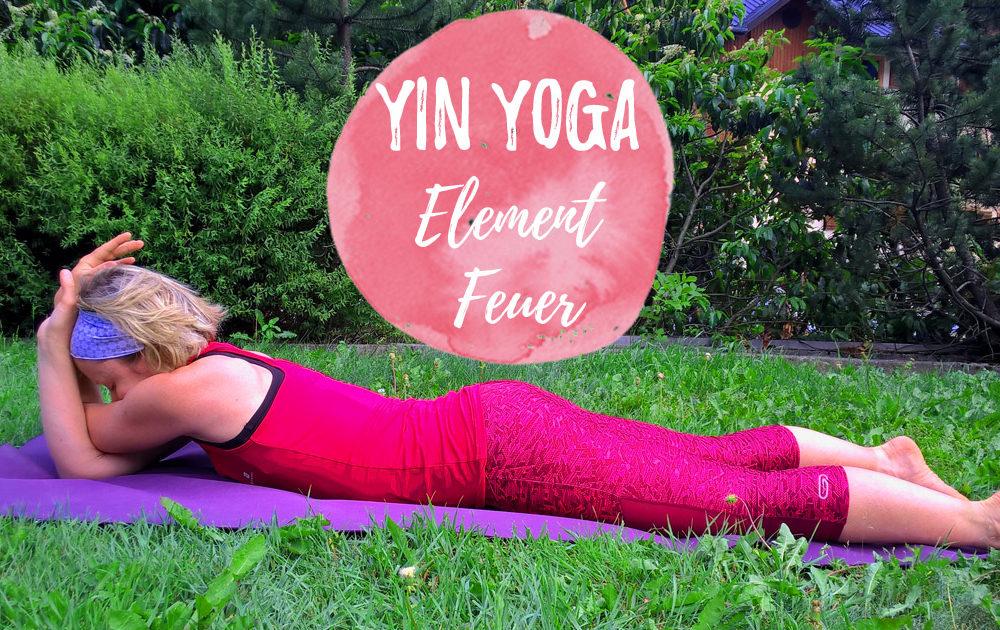 Yin Yoga Element Feuer