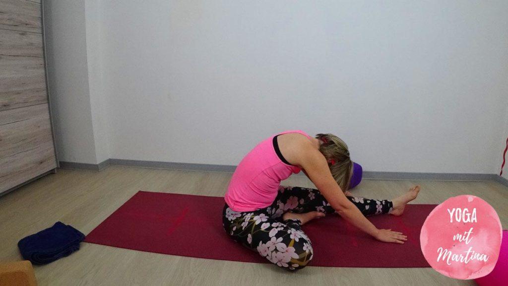Yin Yoga Halber Schmetterling
