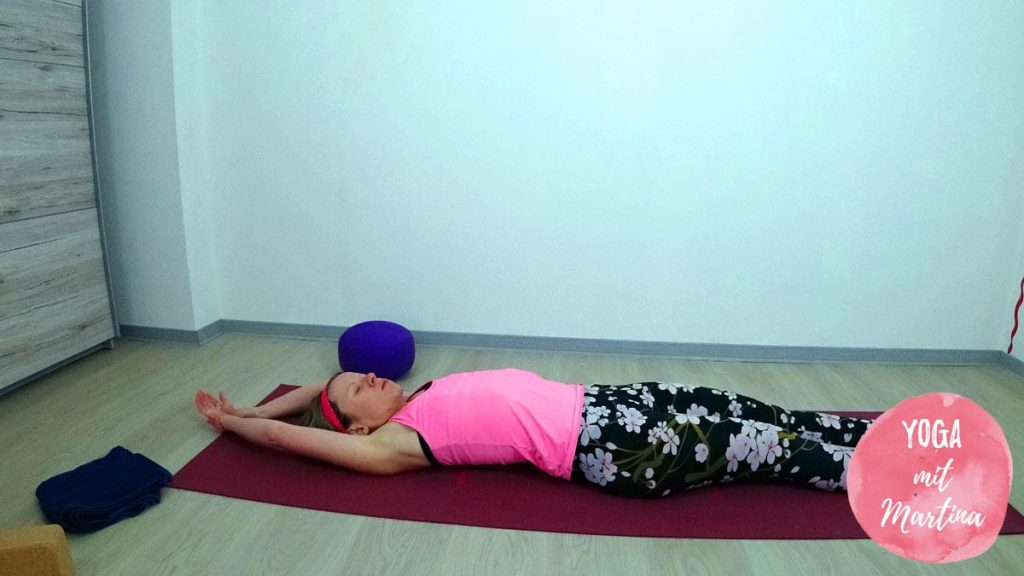 Yin Yoga Halbmond