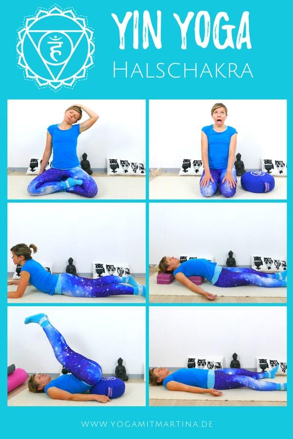 Yin Yoga für das Halschakra