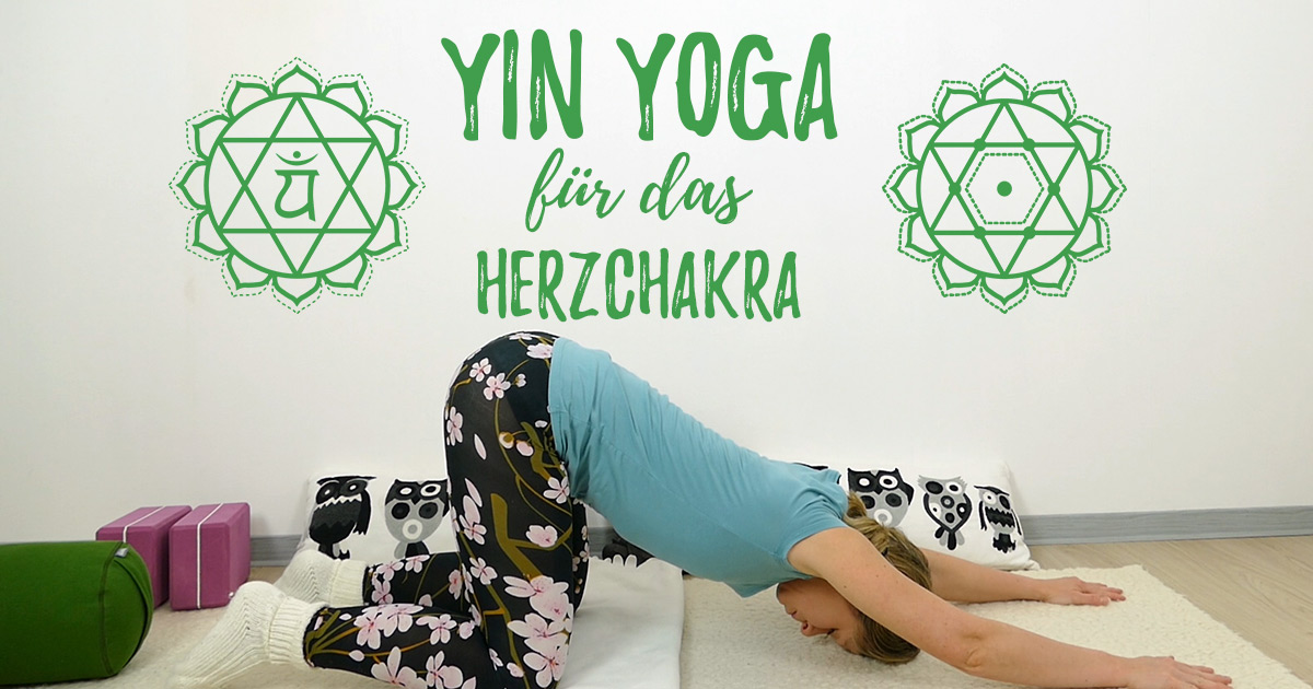 Yin Yoga Herzchakra