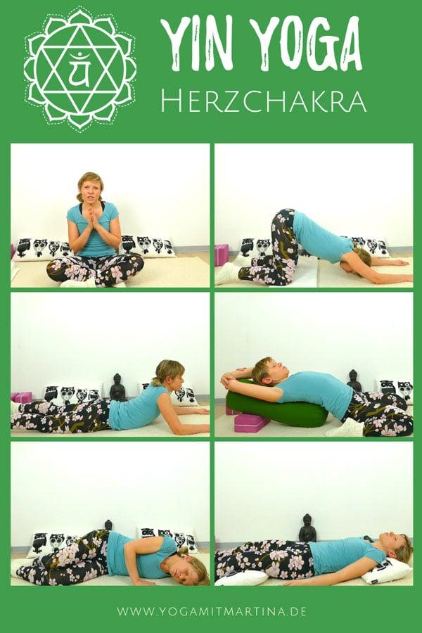 Yin Yoga für das Herzchakra
