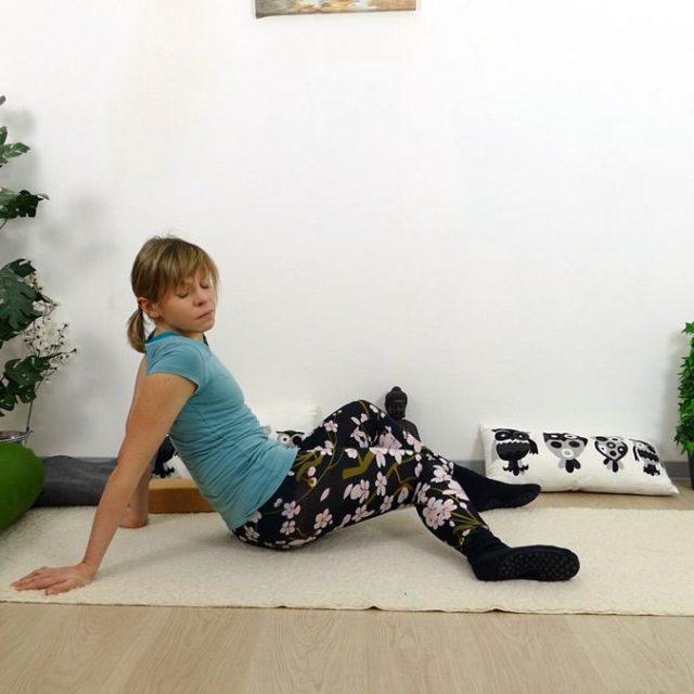 Yin Yoga Holz Scheibenwischer
