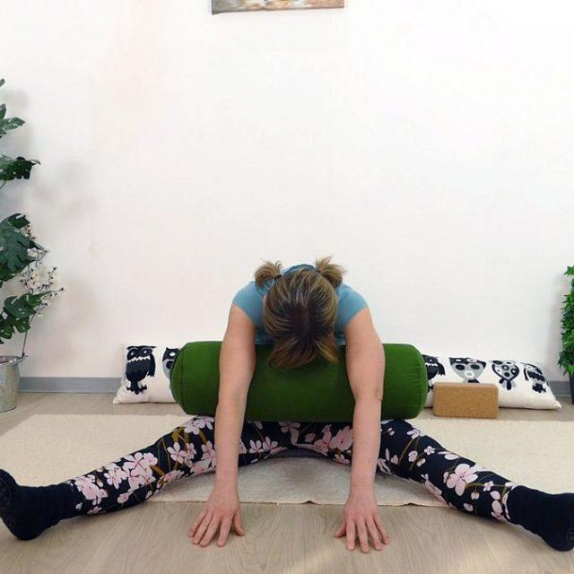 Yin Yoga Holz Libelle