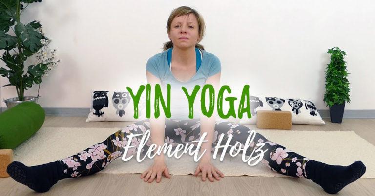 Yin Yoga Element Holz Leber & Gallenblase
