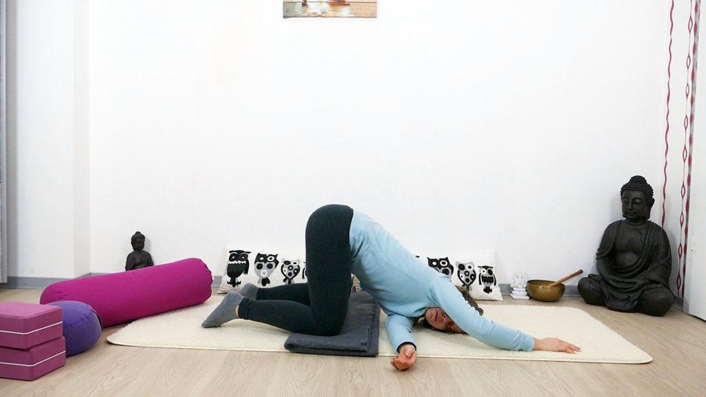 Yin Yoga Immunsystem schmelzendes Herz Twist
