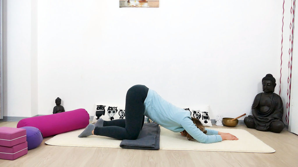 Yin Yoga Immunsystem schmelzendes Herz