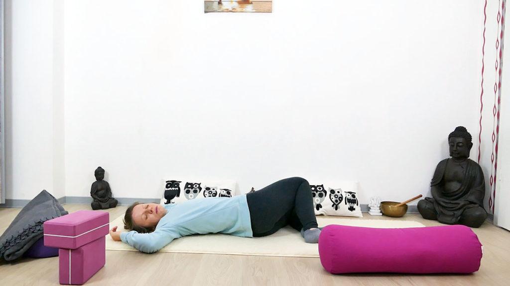 Yin Yoga Immunsystem Twist