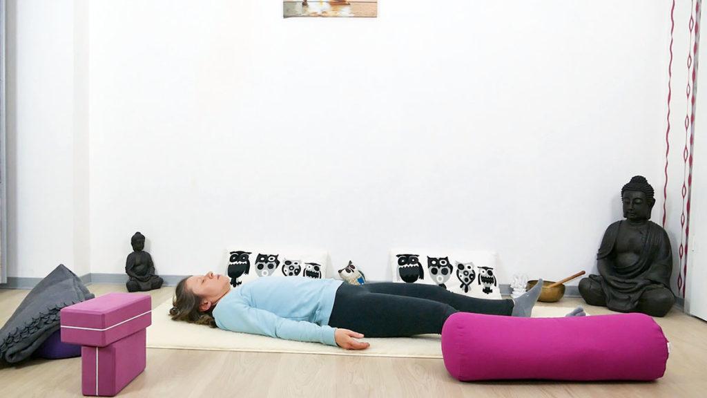 Yin Yoga Immunsystem Shavasana
