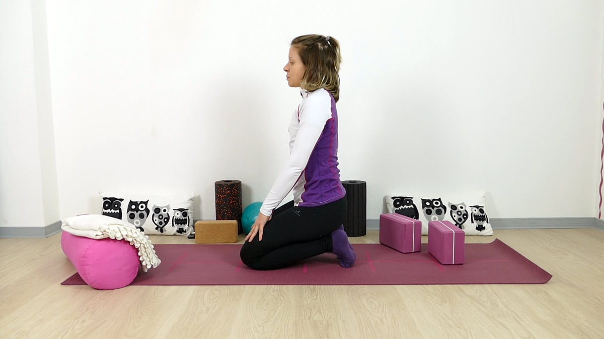 Yin Yoga Zehensitz