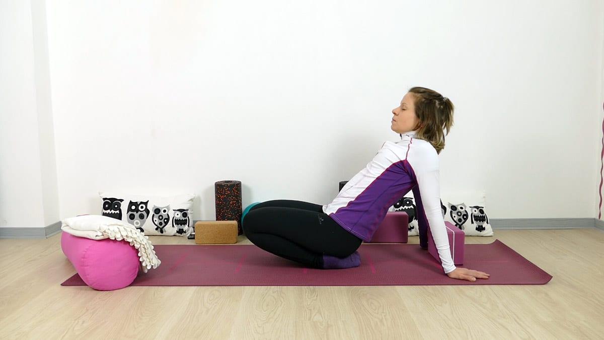 Yin Yoga Ankle Stretch - Dehnung der Schienbeine