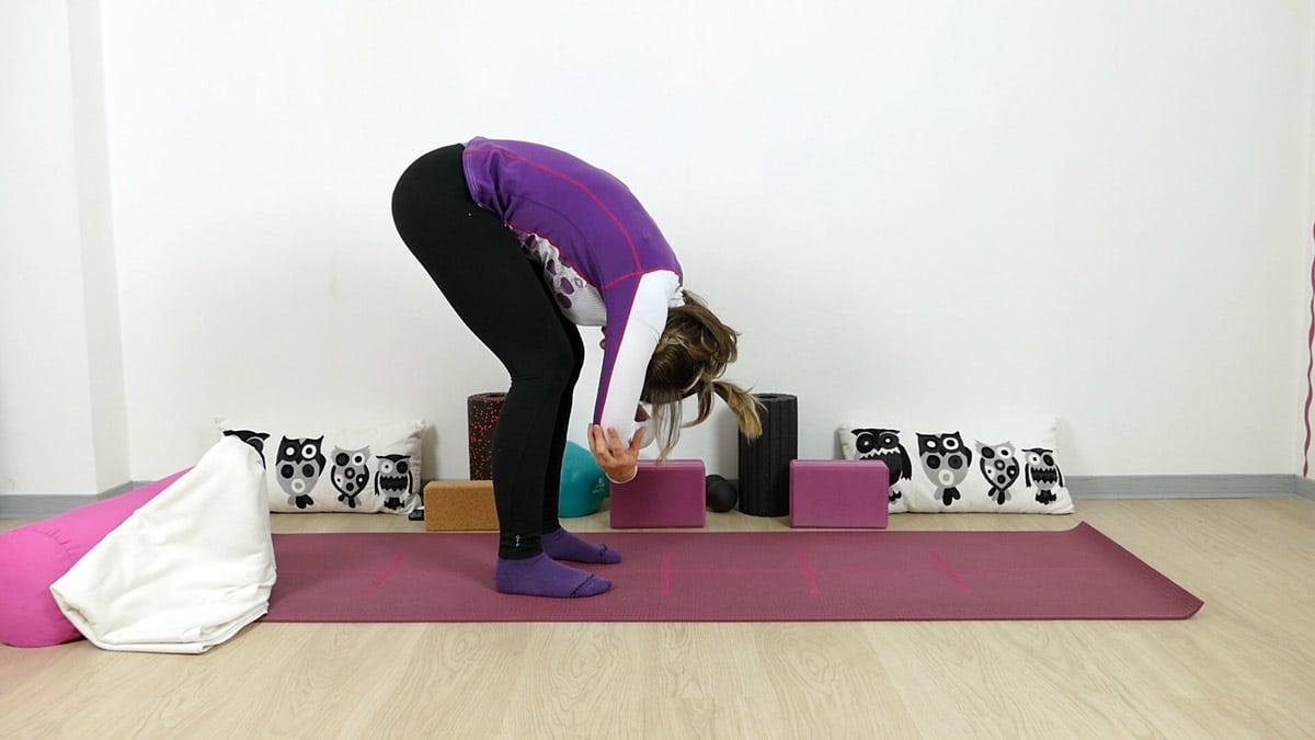 Yin Yoga für Läufer Dangling Pose