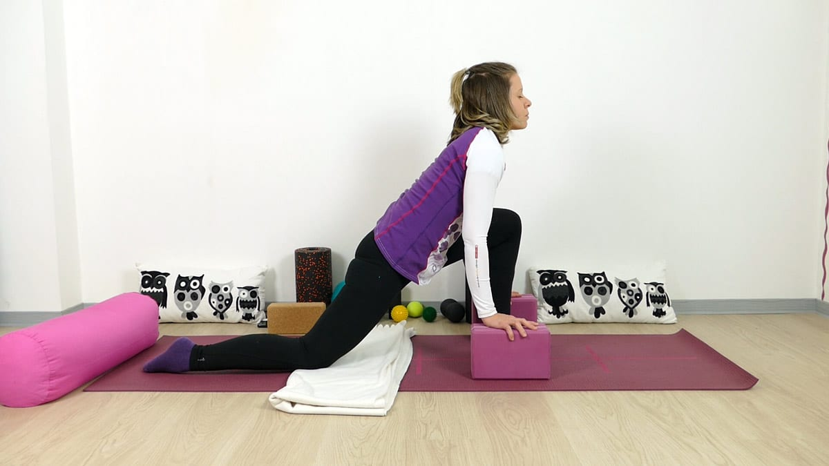 Yin Yoga für Läufer Drache Dragon