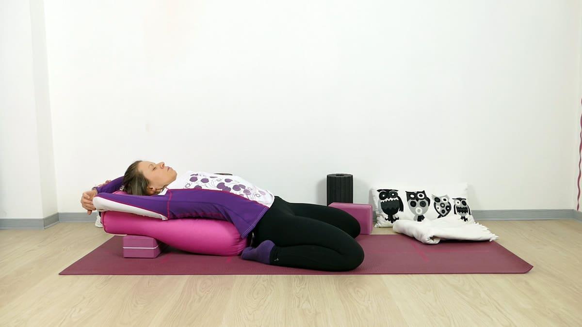 Yin Yoga für Läufer Sattel