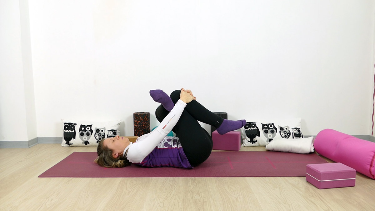Yin Yoga für Läufer Nadelöhr