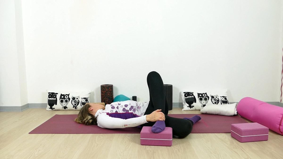 Yin Yoga für Läufer seitliche Oberschenkeldehnung